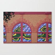 Avery Block Canvas Print