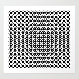 I'm in the middle of a chain reaction… Art Print