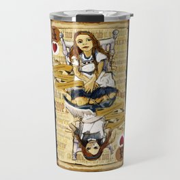 'Alice' (Alice in Steampunk Series) Travel Mug