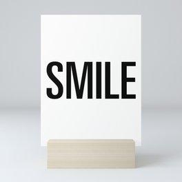 Smile Mini Art Print