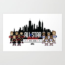 MAD Starting 10  Art Print