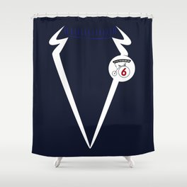 Come in Number 6 Shower Curtain