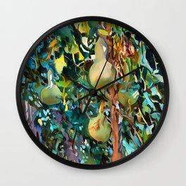 Gourds After John Singer Sargent Wall Clock