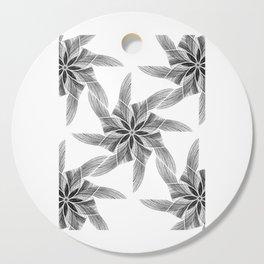 black pattern Cutting Board