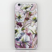 botanical iPhone & iPod Skins featuring Botanical by Anna Maiko