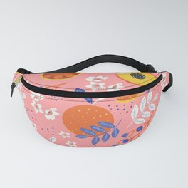 PEACH AND ORANGE PATTERN Fanny Pack