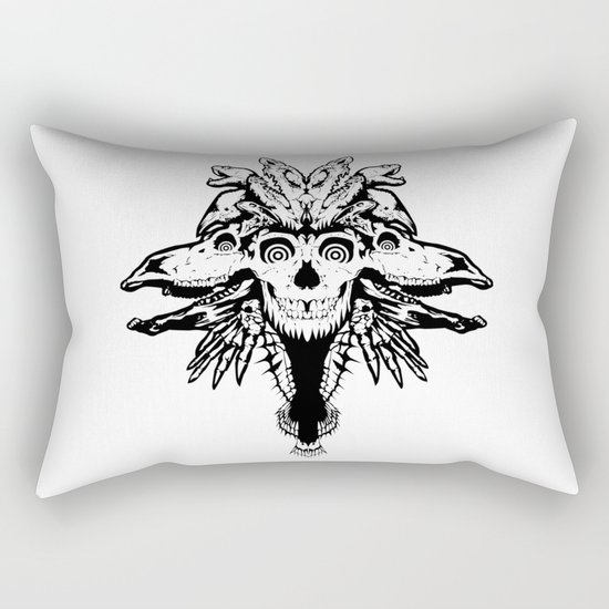 GOD III Rectangular Pillow