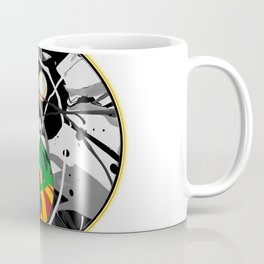 Cosmic Peace in the Abstract Balance of Order and Chaos Coffee Mug