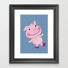 Pigg'o Framed Art Print