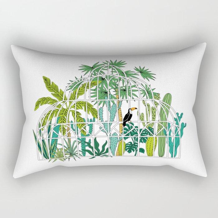 Royal greenhouse Rectangular Pillow
