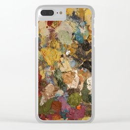 Dariusz Stolarzyn a Little Bit of Everything Oil Painting Clear iPhone Case