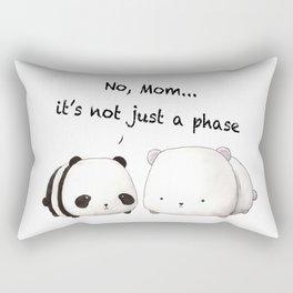 Emo Panda Rectangular Pillow