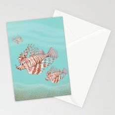 Fish Manchu Stationery Cards