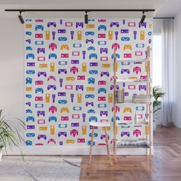 Video Games Pattern | Gaming Console Computer Play Wall Mural