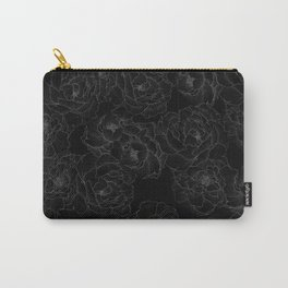 Peony Flower Pattern III Carry-All Pouch