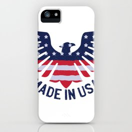 Made in USA Eagle iPhone Case