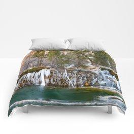 Hanging Lake Winter Comforters