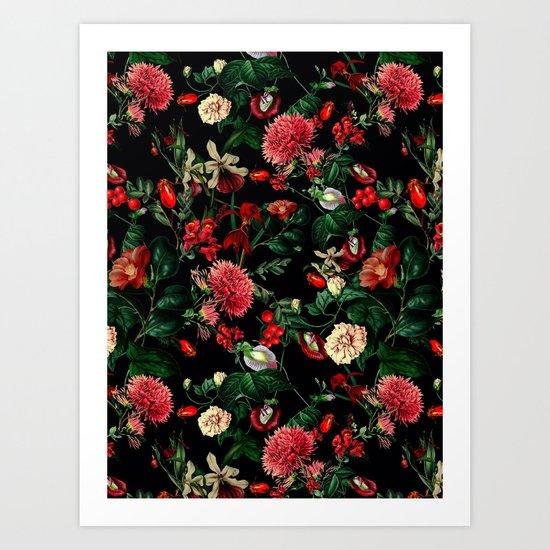 Botanical Garden VSF015 Art Print