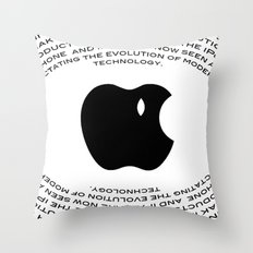 A Tribute To Steve Jobs Throw Pillow
