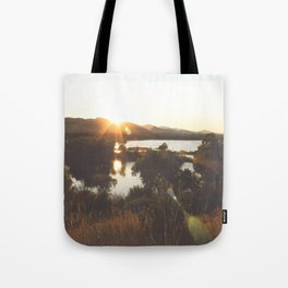 Golden Hour Glow Tote Bag