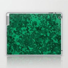 Jade Green Hybrid Camo Pattern Laptop & iPad Skin