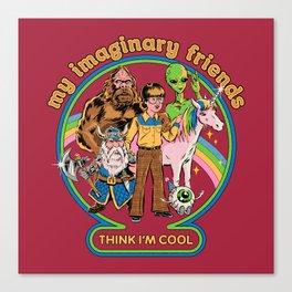 My Imaginary Friends Canvas Print