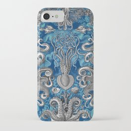 The Kraken (Blue - No Text) iPhone Case