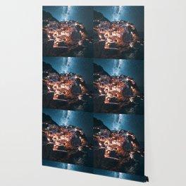 manarola at night Wallpaper