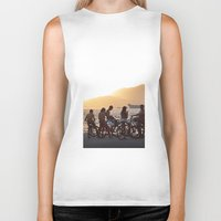 kids Biker Tanks featuring Kids by Jimmy Duarte