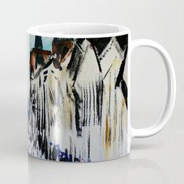 Eastgate Street, Chester, England Impressionist Fine Art Coffee Mug
