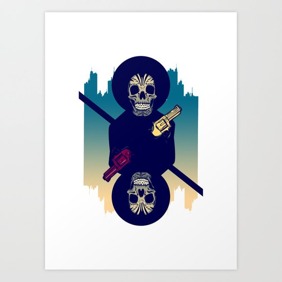 Up the Ante Art Print