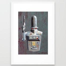 One-armed Bandit Framed Art Print