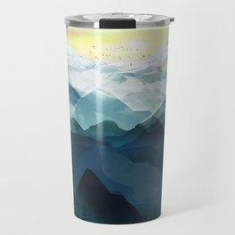 Mountain Range Travel Mug