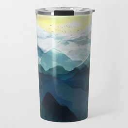 Mountain Range Travel Mug