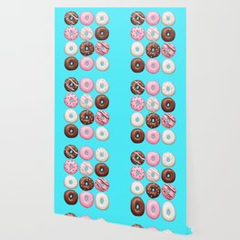 Donuts Party Wallpaper
