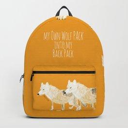 Totem wolf (Canis lupus nubilus (pair) (c) 2017 Backpack