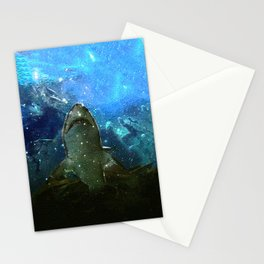 The Great White Marine Lava Lamp Stationery Cards