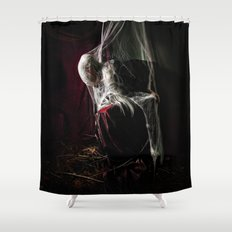 The Woman Who Waited Shower Curtain
