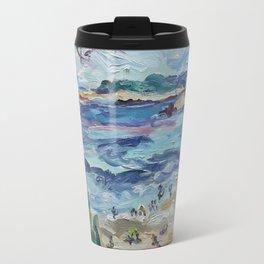 Beach & Lighthouse @ St Croix Travel Mug