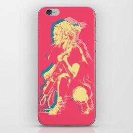 Tina - Talking Heads iPhone Skin