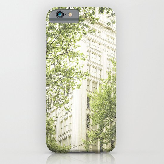 green in the grey iPhone & iPod Case