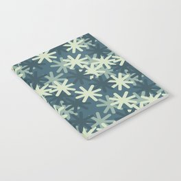 Mod Snowflakes Notebook