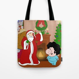 Santa Claus came to town! Tote Bag