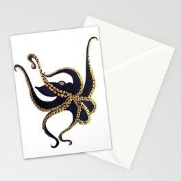 La pieuvre Stationery Cards