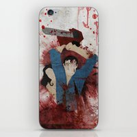 evil iPhone & iPod Skins featuring Evil by Spectacle Photo
