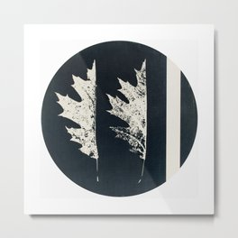 HERBARIUM. FORGOTTEN LEAVES. #9 Metal Print