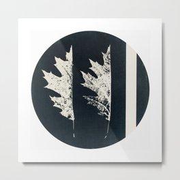 HERBARIUM. FORGOTTEN LEAVES. #9 Metal Print
