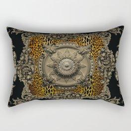 Baroque Panel Rectangular Pillow