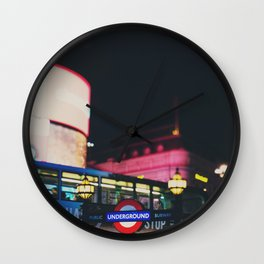 London nightlife ... Wall Clock