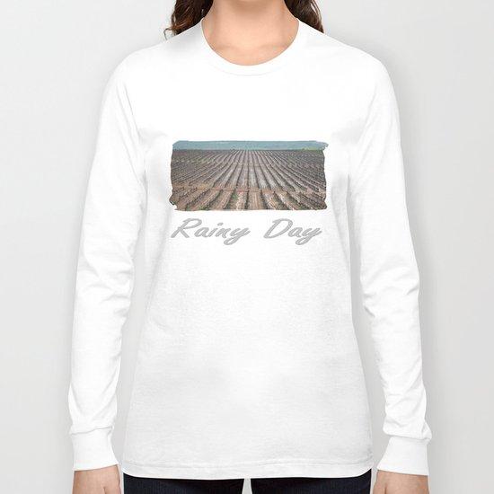 Rainy Wineyards Long Sleeve T-shirt